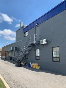 Exterior commercial painting service Toronto - OnBudget Painting