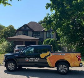 painting service truck-OnBudget painting toronto