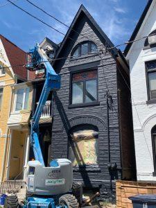 Exterior residential painting Toronto