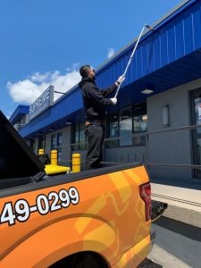 exterior commercial painting service Toronto