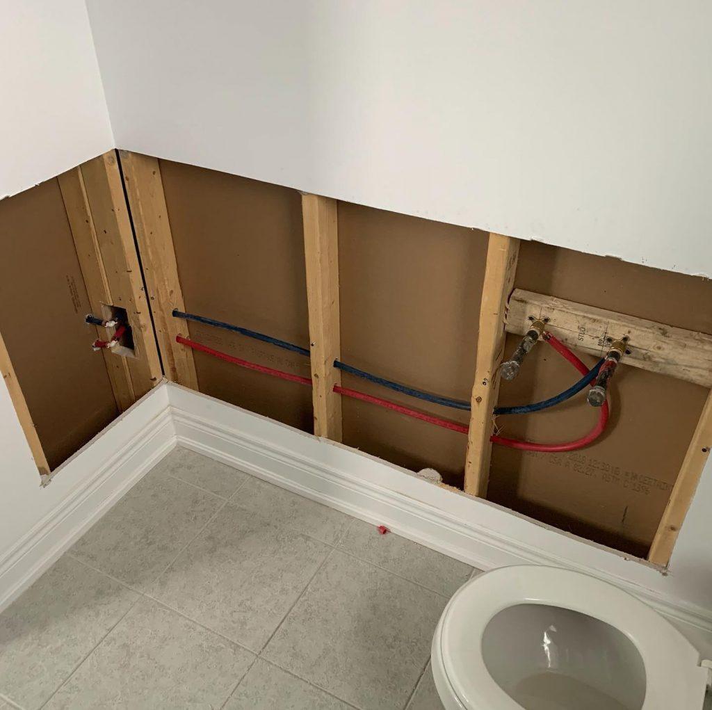 Drywall repair Toronto -Before- OnBudget Painting