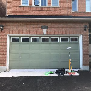 garage door painting Toronto