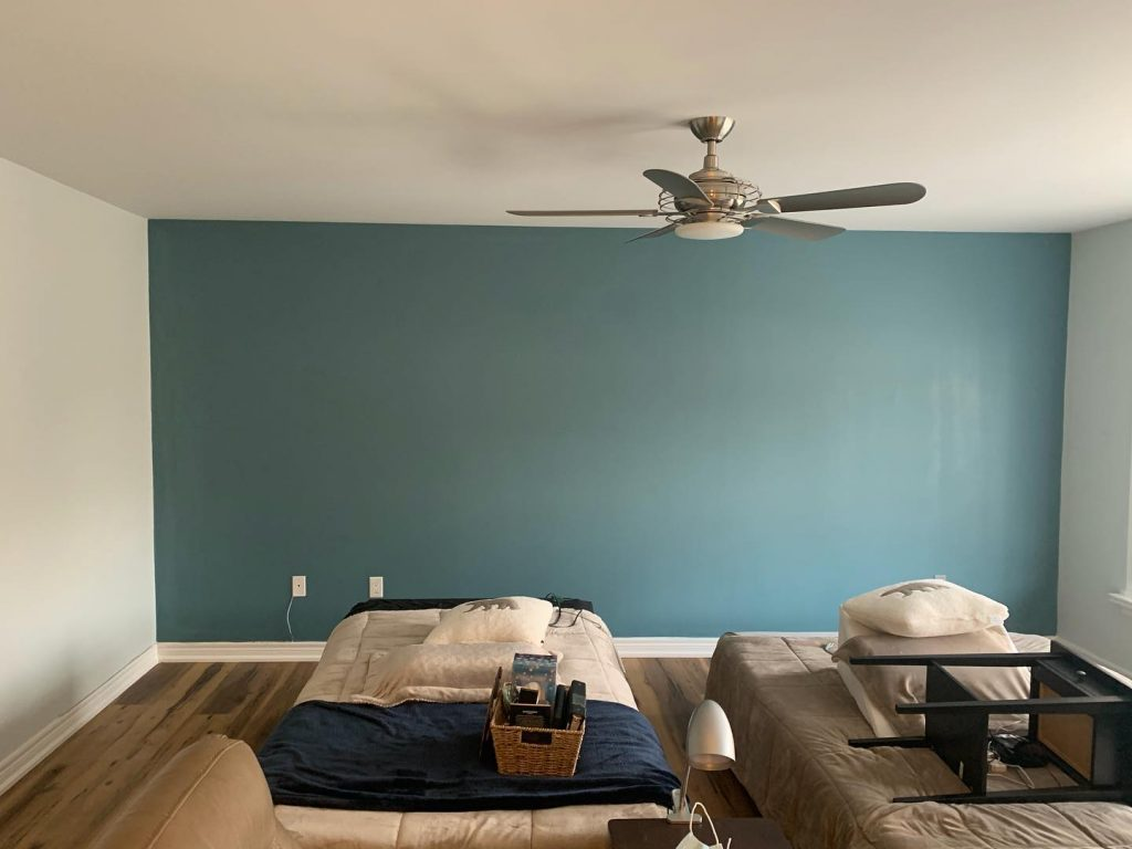 Wallpaper installation and removal service -After - OnBudget Painting
